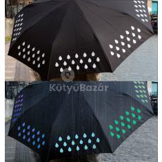 Színváltós esernyő
