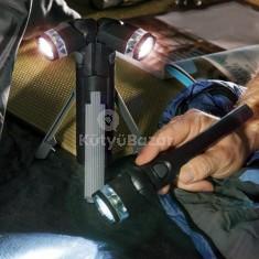 3 az 1-ben LED-es elemlámpa szett állvánnyal