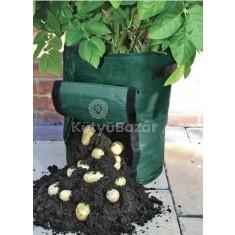 Burgonya ültető zsák
