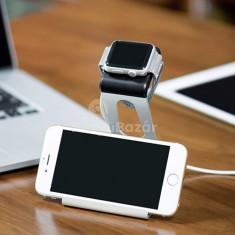 iPhone és Apple Watch dokkoló, fém