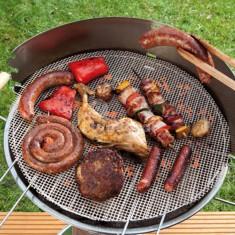 Kör alakú teflonos grill alátét