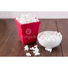 Szilikon popcorn készítő tál