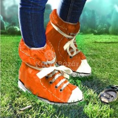Fesztiválozó cipővédő