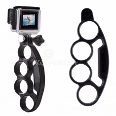Akciókamera tartó négy ujjas markolattal