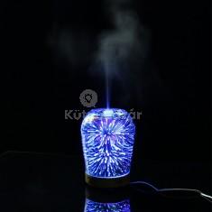 3D LED aromaterápiás párásító