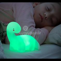 Mókás színváltós éjszakai lámpa
