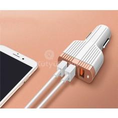 LDNIO C702Q Szivargyújtóba helyezhető USB gyorstöltő QC 3.0