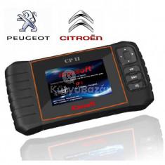iCarsoft CP II gyári szintű Citroen Peugeot diagnosztikai OBD 1 OBD 2 műszer szerviz funkciókkal