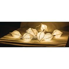 LED-es vízcseppből álló karácsonyi fényfüzér
