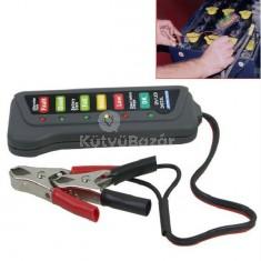 12V-os Digitális Akkumulátor teszter
