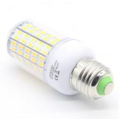 LED izzó 96 ledes E27-es foglalattal (jégfehér)