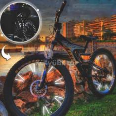 Kerékpár küllő dísz, Fényvisszaverő rúd biciklire (12 db)