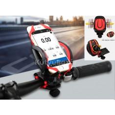 Kerékpárra rögzíthető, stílusos mobil tartó