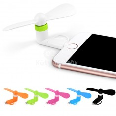 2 az 1-ben Mini ventilátor Android, Iphone 5S, 6S, 6S Plushoz