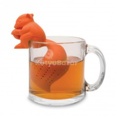 Mókus Formájú Teafilter