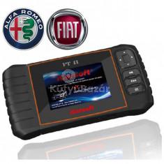 iCarsoft FT II gyári szintű Fiat Alfa Rome OBD 1 OBD 2 diagnosztikai + OBD2 műszer szerviz funkciókkal