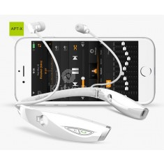 Vezetéknélküli prémium nyakba akasztható LED-es fejhallgató/headset
