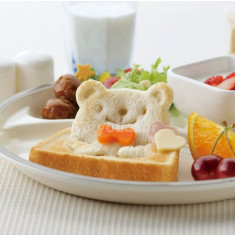 Állatos szendvicsvágó forma