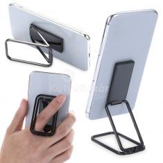 Összecsukható mobiltelefon tartó, telefon gyűrű