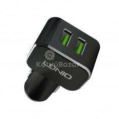 LDNIO C306 Quick Charger Szivargyújtóba helyezhető 2 USB portos autós gyorstöltő