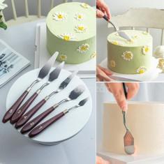 Professzionális tortaformázó, spatula
