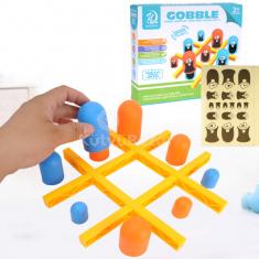 Gobble 3x3-as Amőba Családi Társasjáték