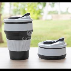 Összecsukható szilikon pohár (InnovaGoods)