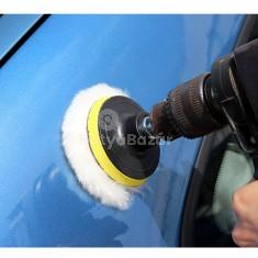4db-os Autó polírozó szett adapterrel