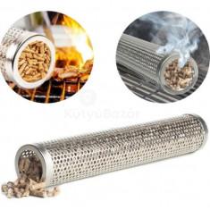 BBQ Grill füstölő cső