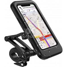 Kerékpárra szerelhető telefontartó