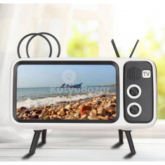 Retro TV-alakú Bluetooth hangszóró