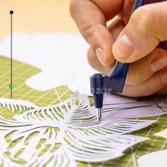 Dekorációs művész kés, Forgófejes papírvágó kés