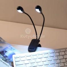 Csiptethető DUAL LED lámpa
