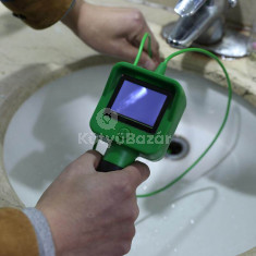 Endoszkóp kamera LCD kijelzővel