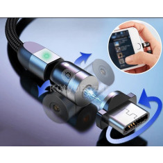 Dupla 360 ° -os mágneses kábel