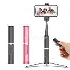 3 az 1-ben Vezeték nélküli selfie bot