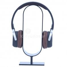 Asztalra ragasztható akril headset/fejhallgató tartó