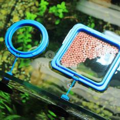 Akváriumi etető gyűrű