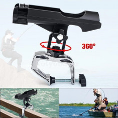 360°-ban forgatható horgászbot tartó