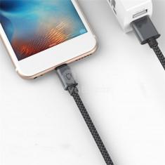 Extra strapabíró 1 méteres MicroUSB gyorstöltő és USB adatkábel