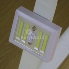 Vezetéknélküli, kompakt fali lámpa COB LED-del
