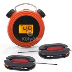 Bluetooth-os grillhőmérő, digitális kijelzővel