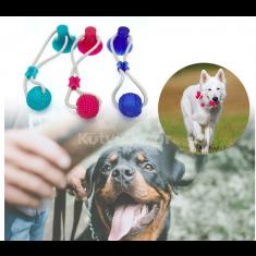 Tapadókorongos fogtisztító kutyajáték