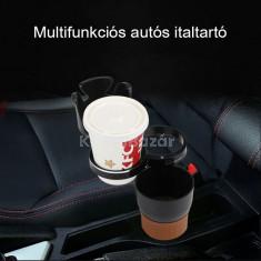 Multifunkciós autós italtartó