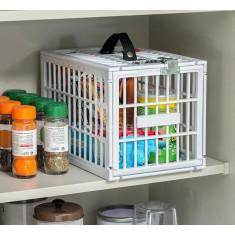 Zárható élelmiszertároló hűtőbe