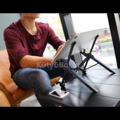 Állítható hordozható laptop állvány