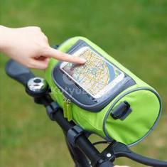 Többfunkciós kerékpáros kormánytáska