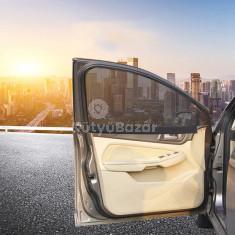 Univerzális belső napellenző, Első- hátsó ablakra szerelhető mágneses napvédő
