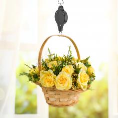 Emelő Csiga Függő Virágtartóhoz