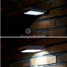 Novion 16 LED-es napelemes fali lámpa